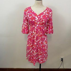 Lilly Pulitzer pink flower dress